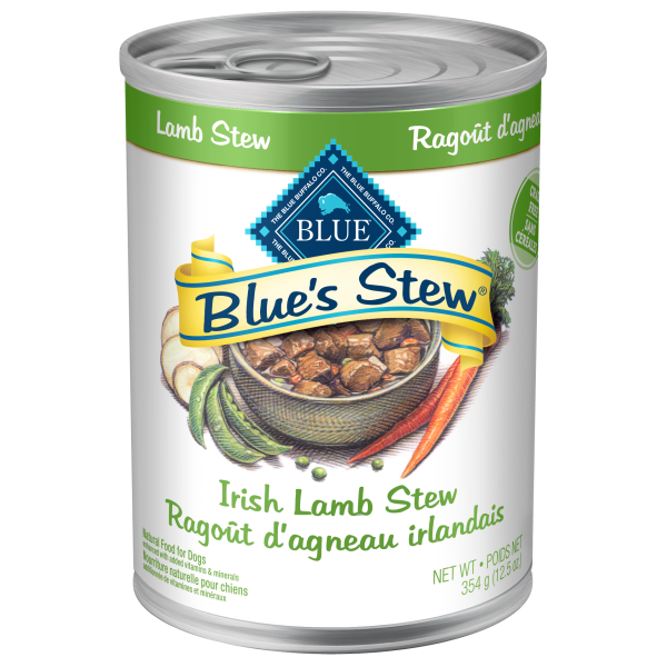 Blue Buffalo Blue's Irish Lamb Stew Adult Wet Dog Food, 12.5-oz