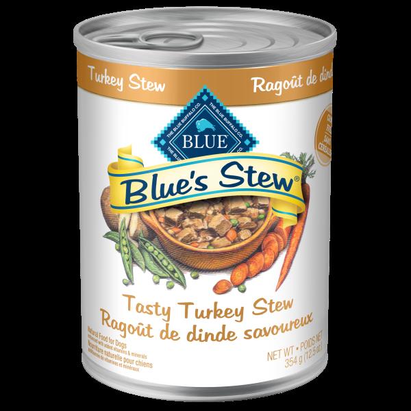Blue Buffalo Tasty Turkey Stew Adult Wet Dog Food, 12.5-oz