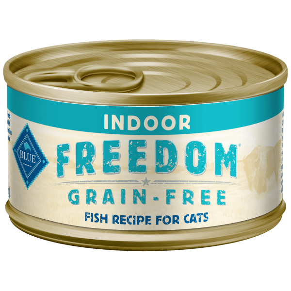 Blue Buffalo Freedom Indoor Fish Grain-Free Adult Wet Cat Food Image