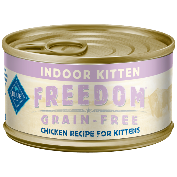 Blue Buffalo Freedom Indoor Chicken Grain-Free Adult Wet Cat Food Image