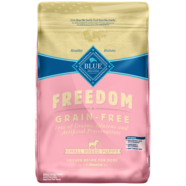 Blue Buffalo Freedom Chicken, Peas & Potatoes Grain-Free Puppy Small Breed Dry Dog Food Image