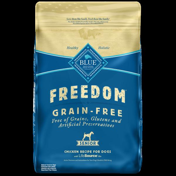 Blue Buffalo Freedom Chicken, Potatoes & Peas Grain-Free Senior Dry Dog Food Image