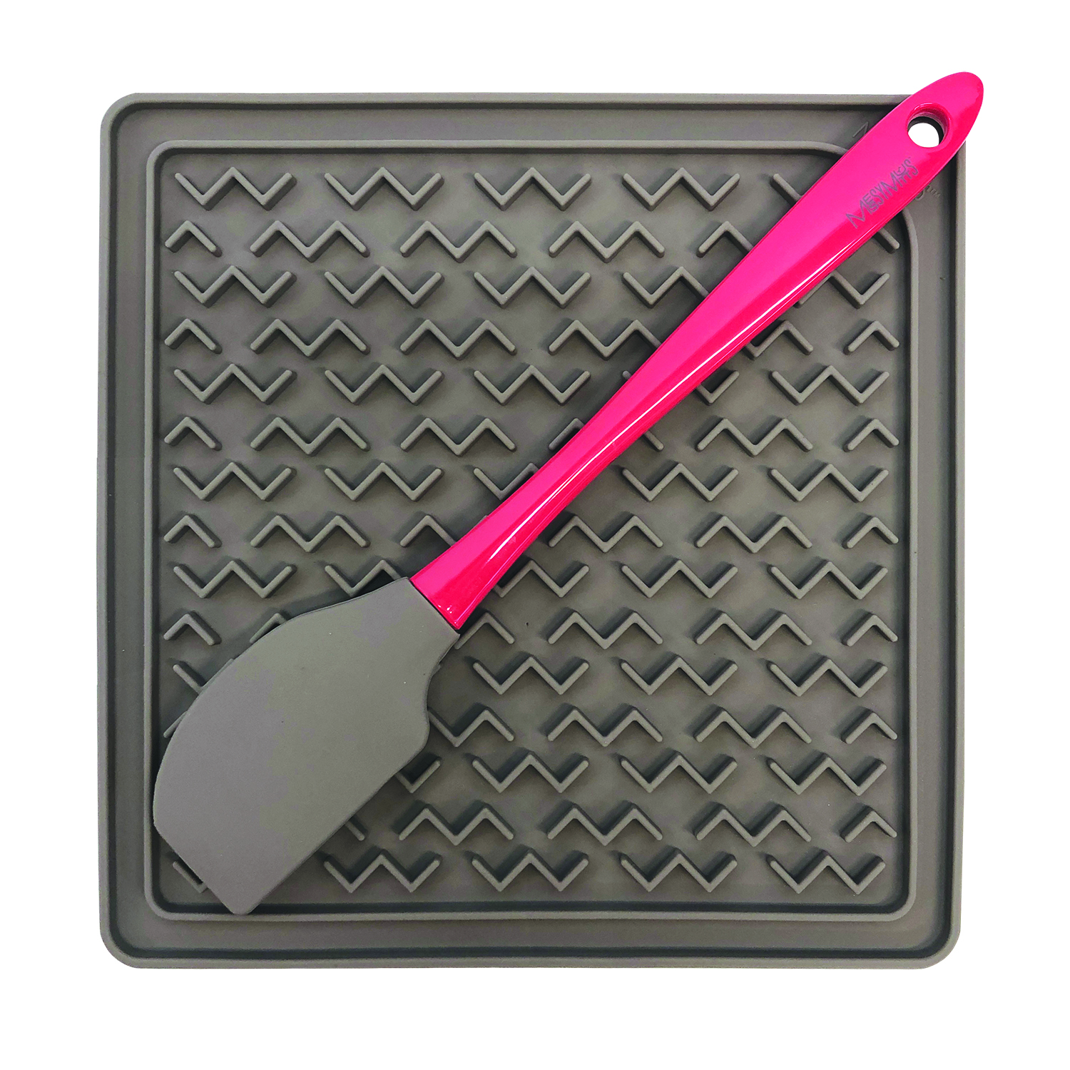 Messy Mutts Slow Feeder Interactive Silicone Lick Mat