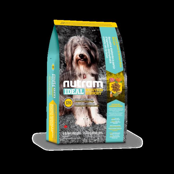 Nutram Ideal I20 Solution Skin, Coat & Stomach Lamb & Brown Rice Dry Dog Food, 2.72-kg