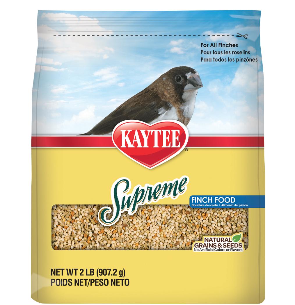 Kaytee Food Supreme Finch Bird Food, 2-lb