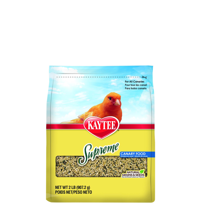 Kaytee Food Supreme Canary Bird Food, 2-lb