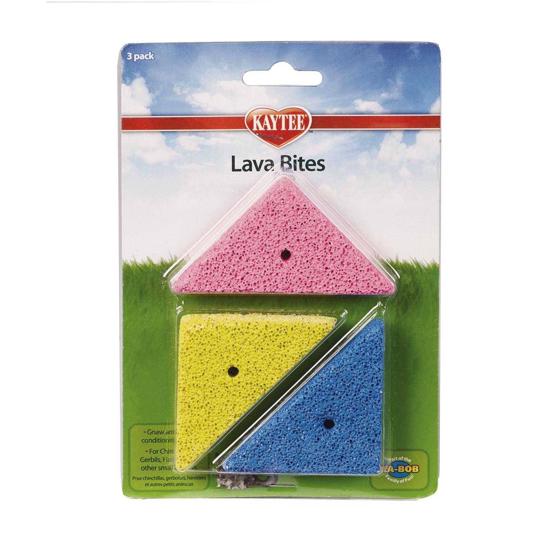 Kaytee Lava Bites Small Animal Treats, 3-pk