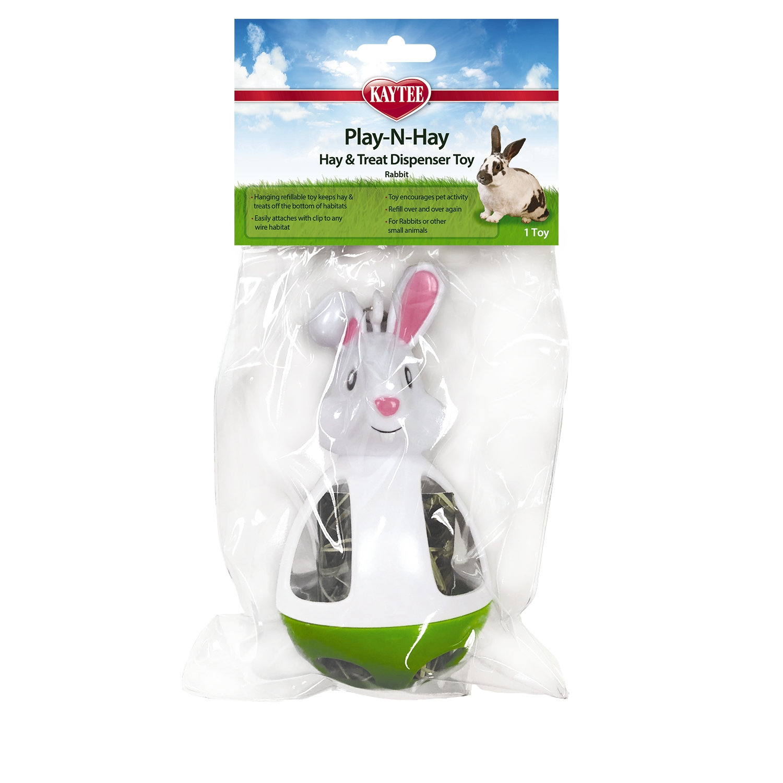 Kaytee Play-N-Hay Rabbit Small Animal Toy