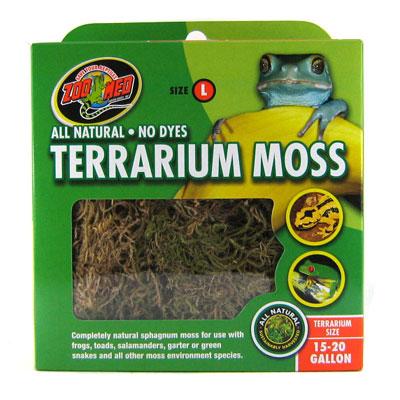Zoo Med Terrarium Moss, 15-20-gallon
