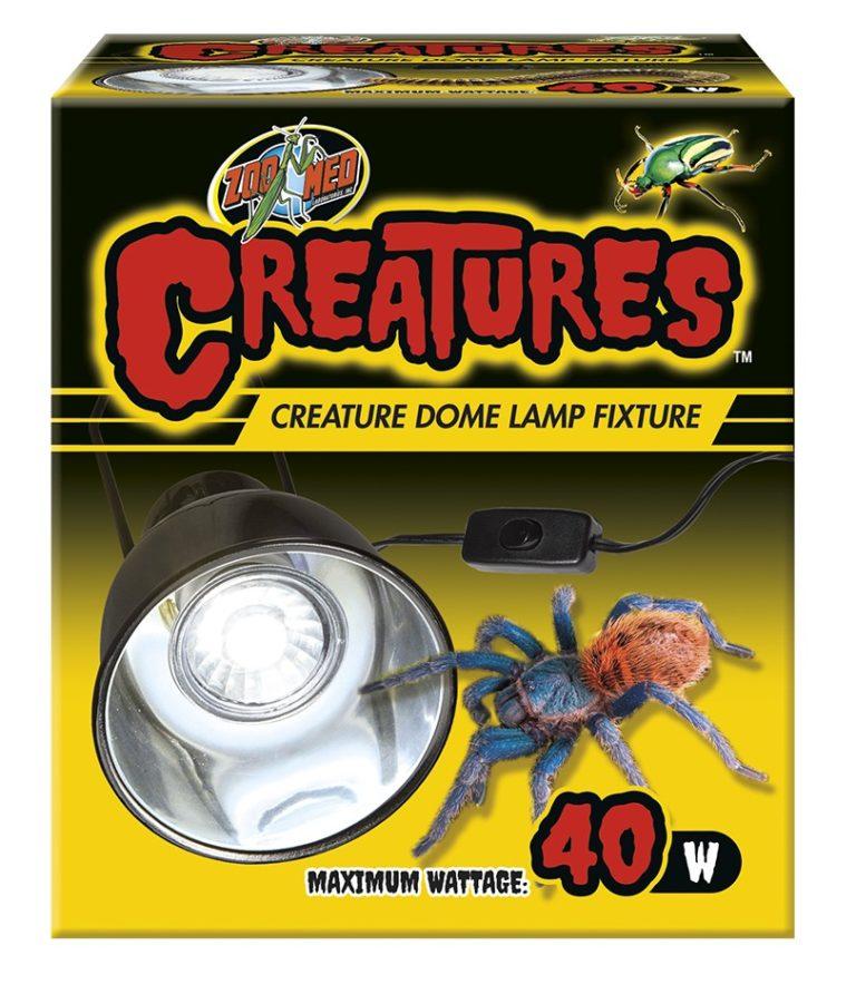 Zoo Med Creatures Dome Habitat Lamp Fixture, 40-watt