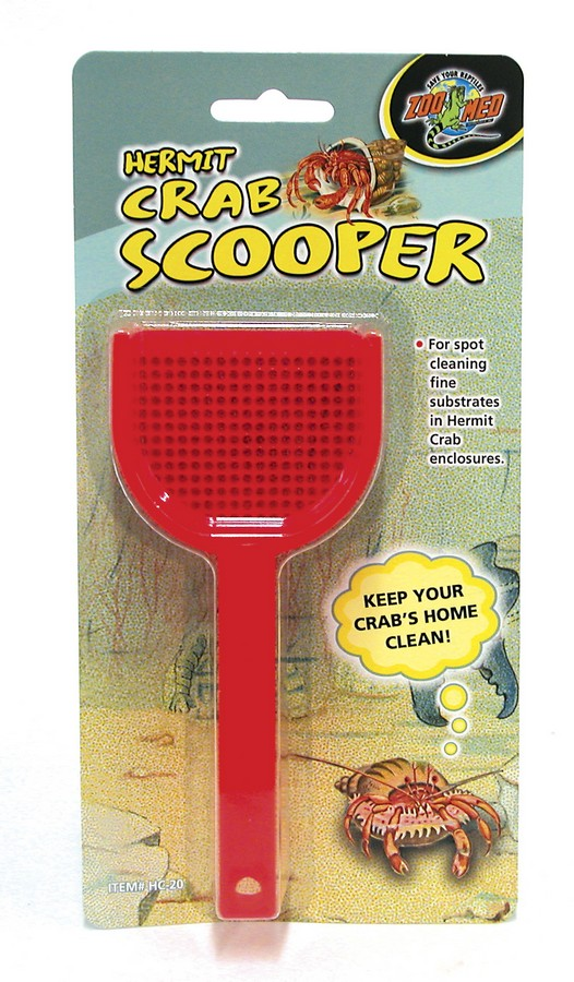Zoo Med Hermit Crab Scooper, Assorted Colors