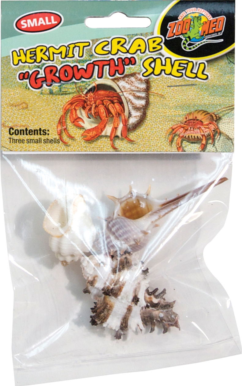 Zoo Med Hermit Crab Growth Shell, Small, 3-pk
