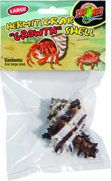 Zoo Med Hermit Crab Growth Shell, Large, 1-pk