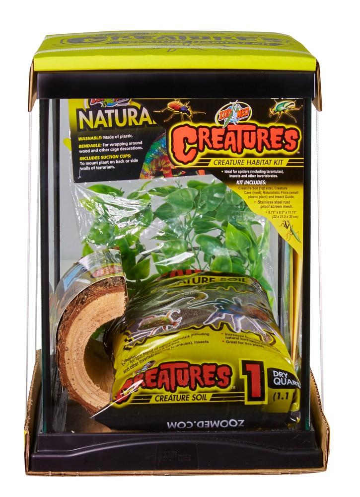 Zoo Med Creatures Creature Habitat Kit, 3-gallon