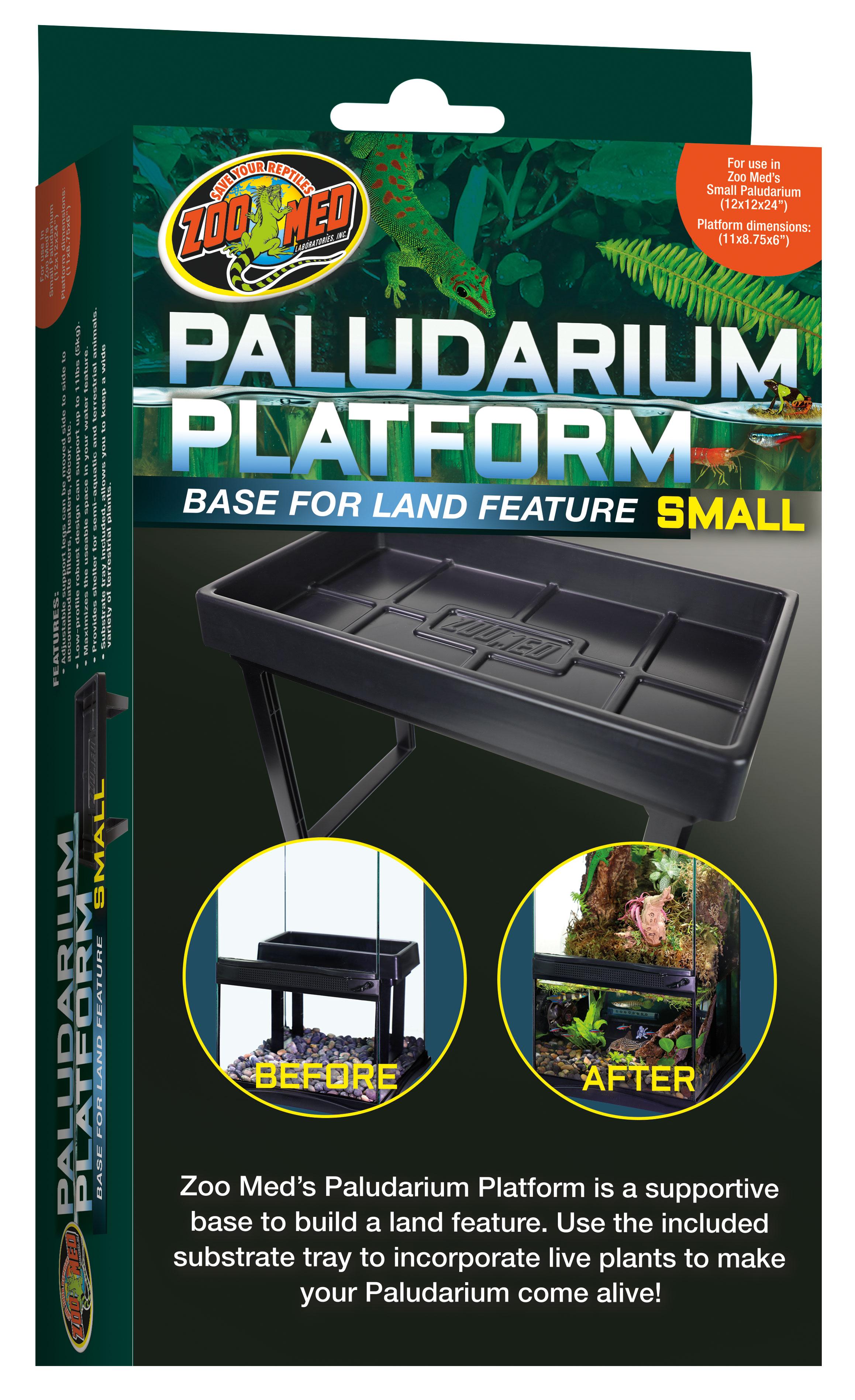 Zoo Med Paludarium Platform for Terrariums, Small