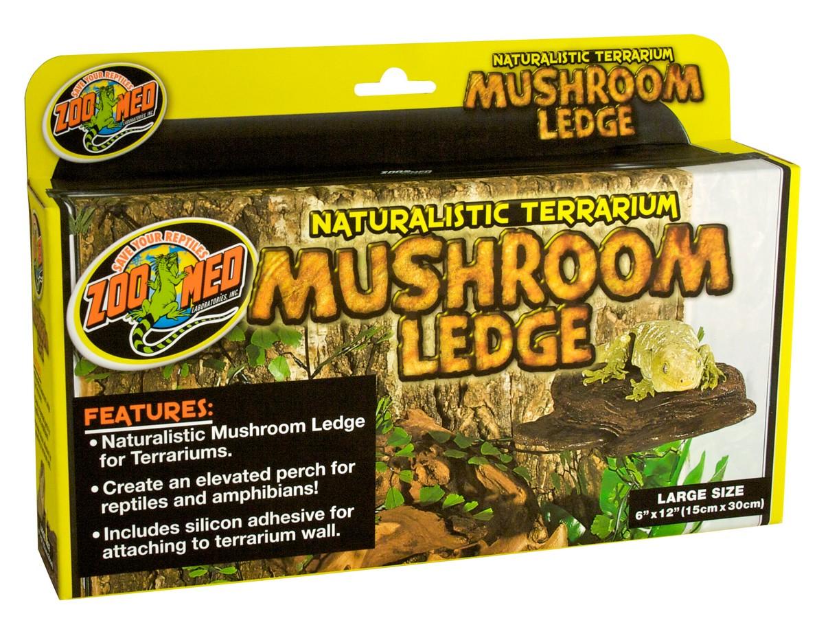 Zoo Med Naturalistic Mushroom Ledge for Terrariums, Large