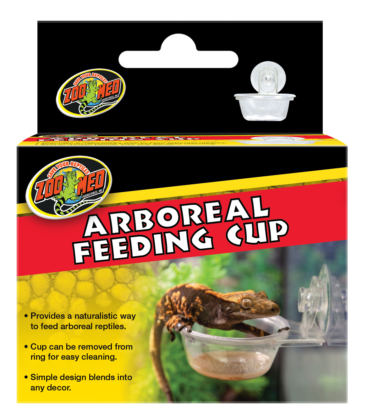 Zoo Med Arboreal Feeding Cup for Terrariums