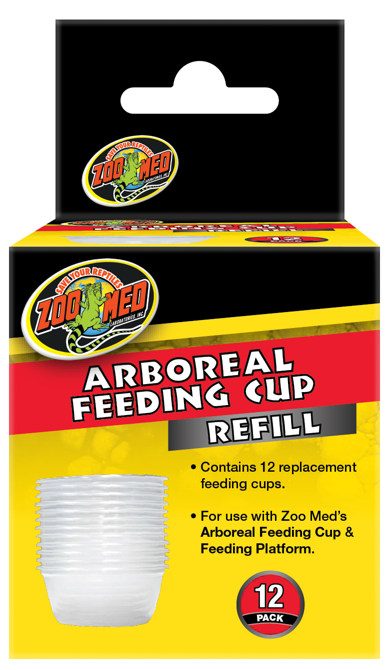 Zoo Med Arboreal Cup Refil for Terrariums, 12-pk