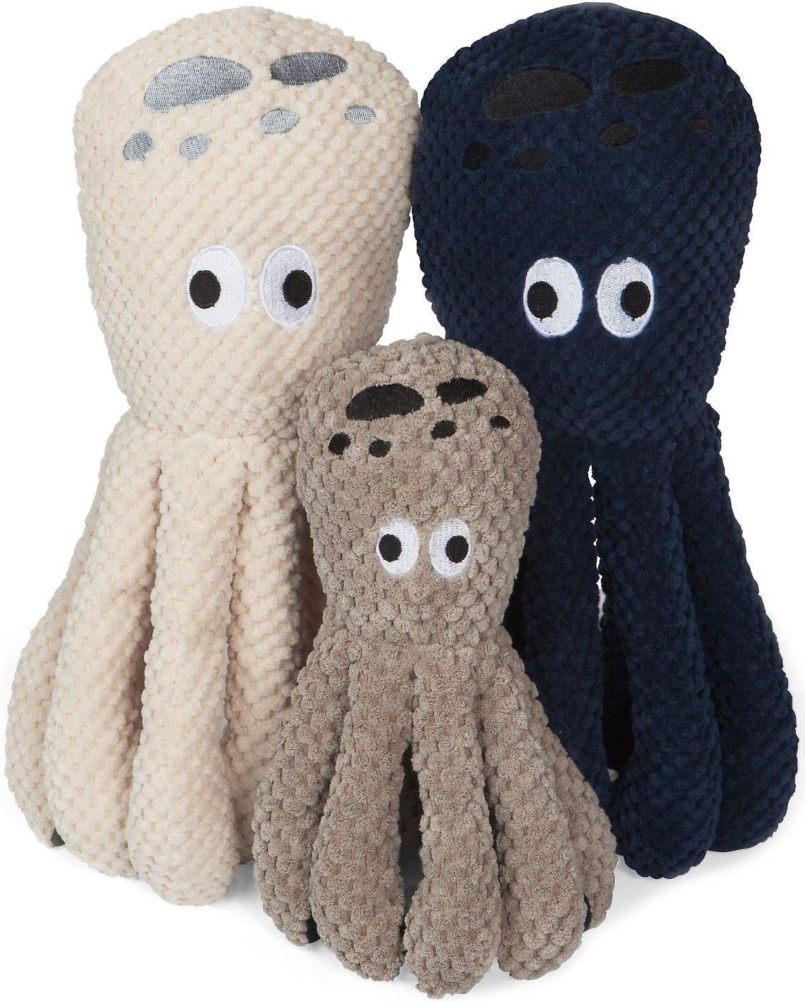 fabdog Floppy Plush Dog Toy, Octopus, Small