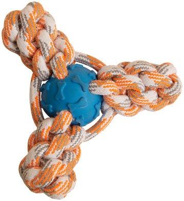 Snugarooz Mini Fling 'N Fun Rope Dog Chew Toy, Assorted