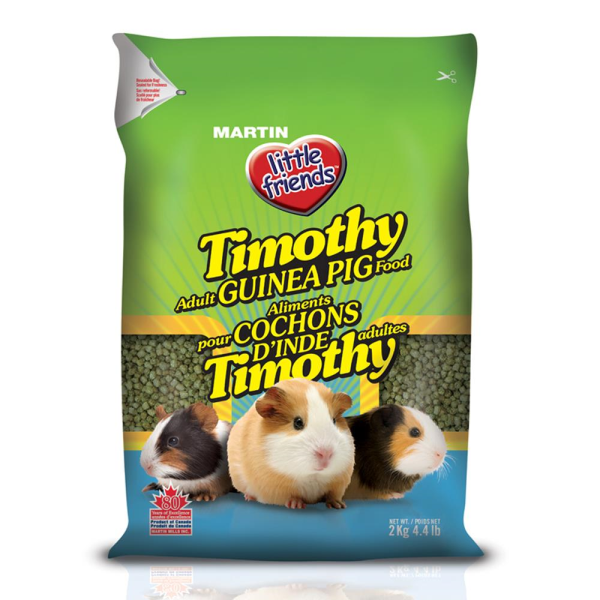 Martin Little Friends Timothy Adult Dry Guinea Pig Food, 2-kg