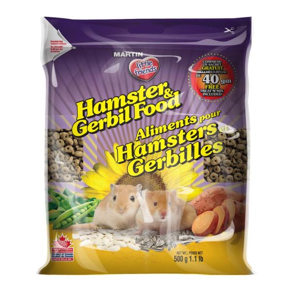 Martin Little Friends Dry Hamster & Gerbil Food, 500-gm
