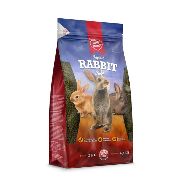 Martin Little Friends Original Dry Rabbit Food Image