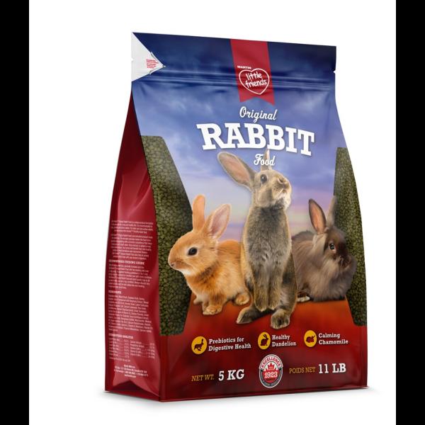 Martin Little Friends Original Dry Rabbit Food, 5-kg