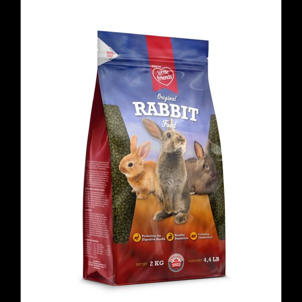 Martin Little Friends Original Dry Rabbit Food, 2-kg