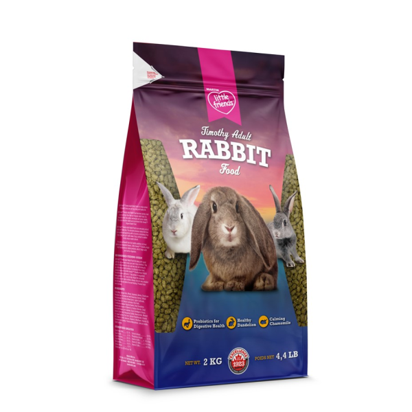 Martin Little Friends Adult Timothy Dry Rabbit Food, 2-kg