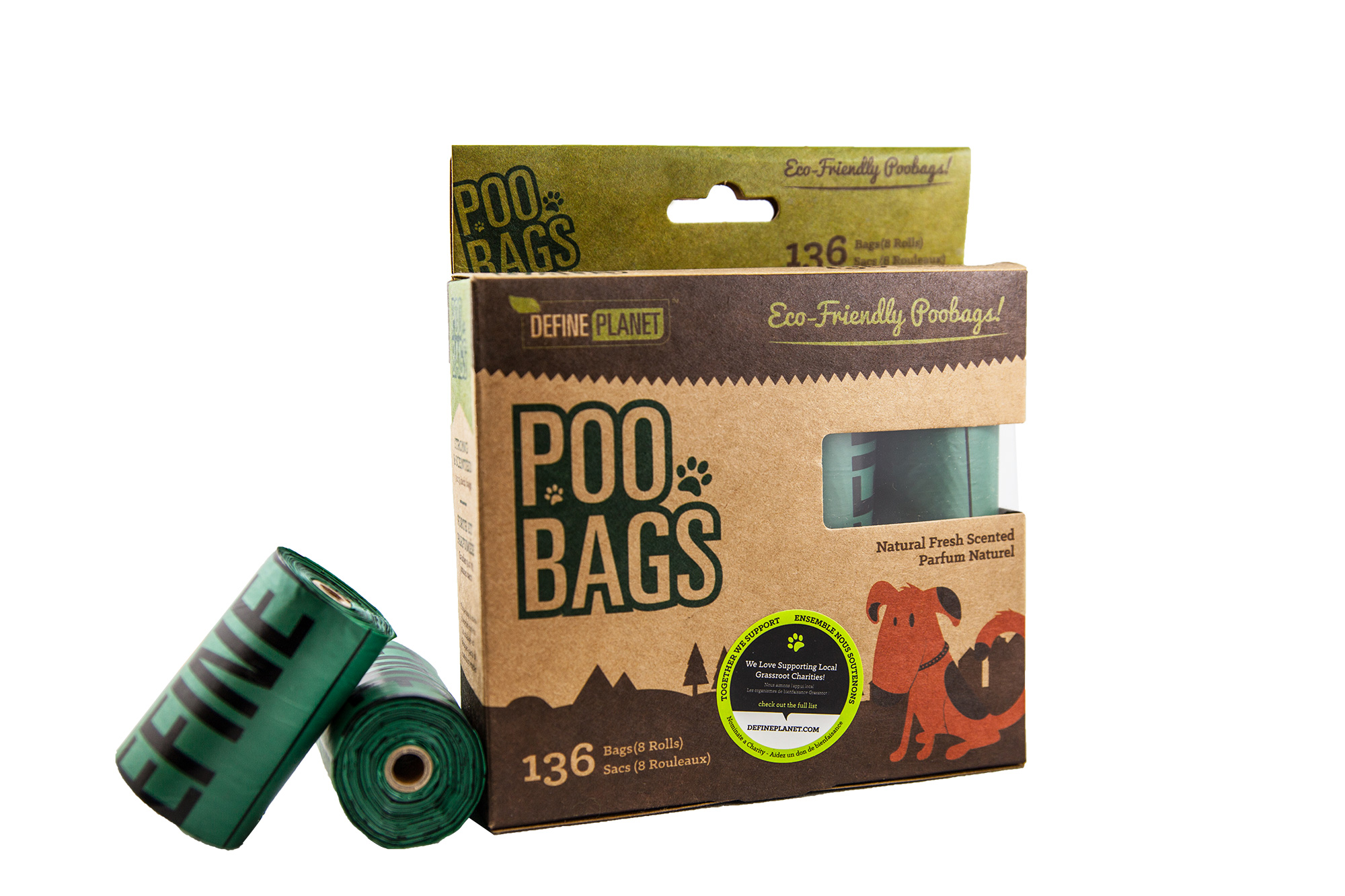 Define Planet Poo Bags for Dogs, 8-count