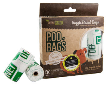 Define Planet Poo Bags Veggie Based for Dogs, 8-count