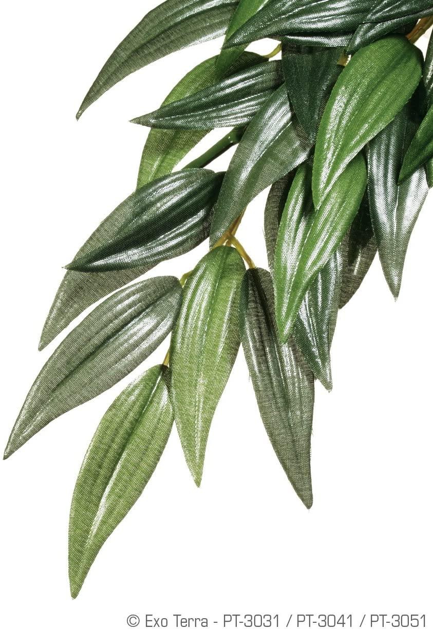 Exo Terra Silk Plant Ruscus for Terrariums, Medium