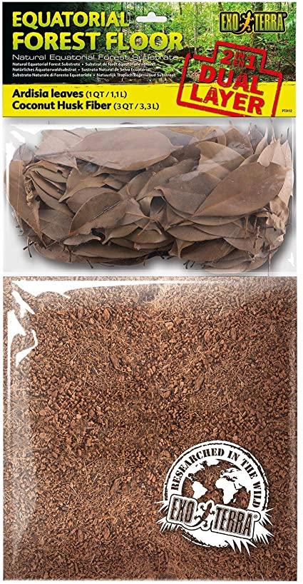 Exo Terra Equatorial Forest Floor Reptile Substrate, 4-qt