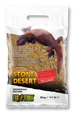 Exo Terra Stone Desert Sonoran Ocher Reptile Substrate, 11-lb