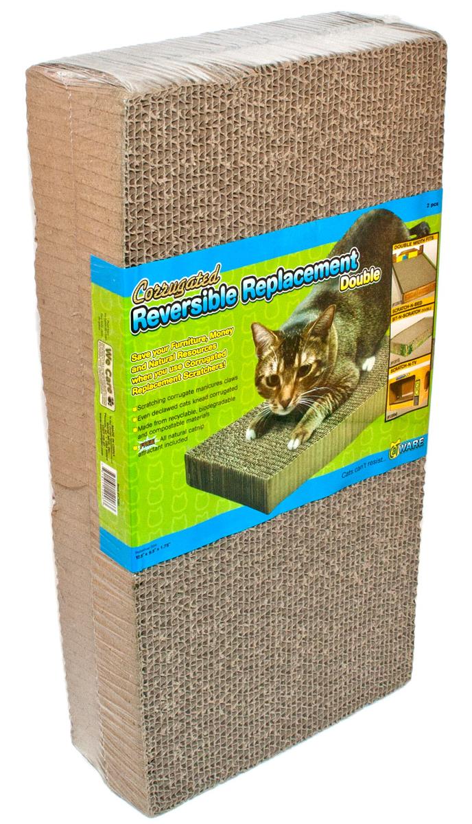 Ware Manufacturing Corrugated Cardboard Cat Scratcher, Double