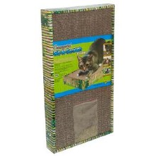 Ware Manufacturing Corrugated Sit & Scratch Cat Scratcher, Double