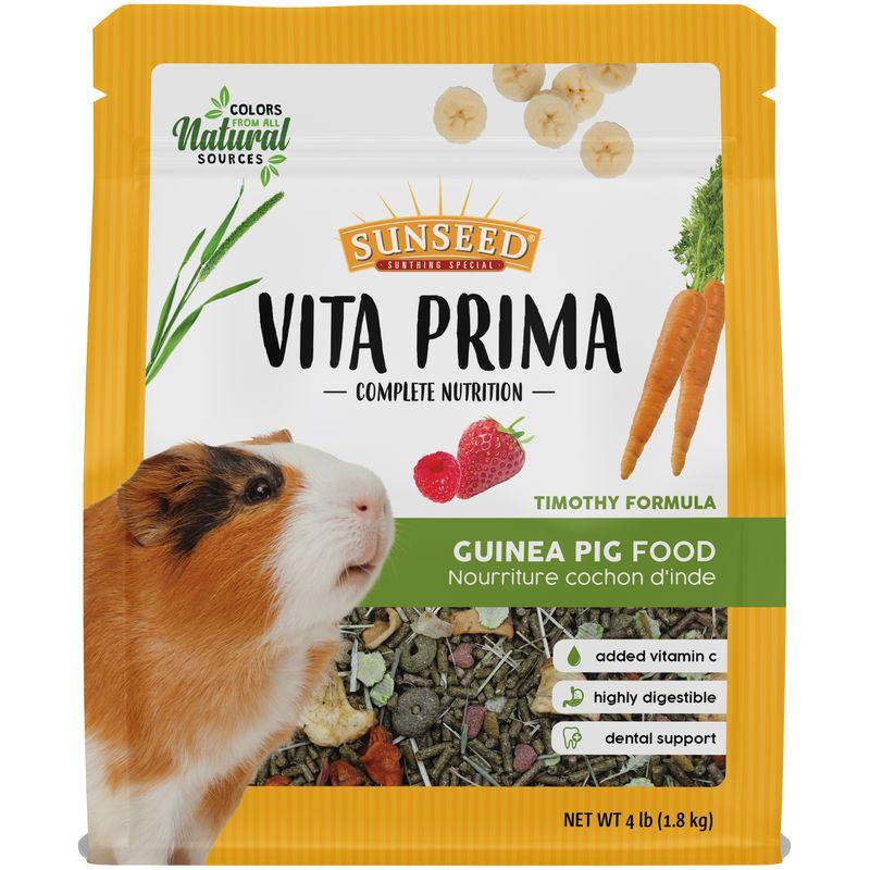 Sunseed Vita Prima Guinea Pig Formula, 4-lb
