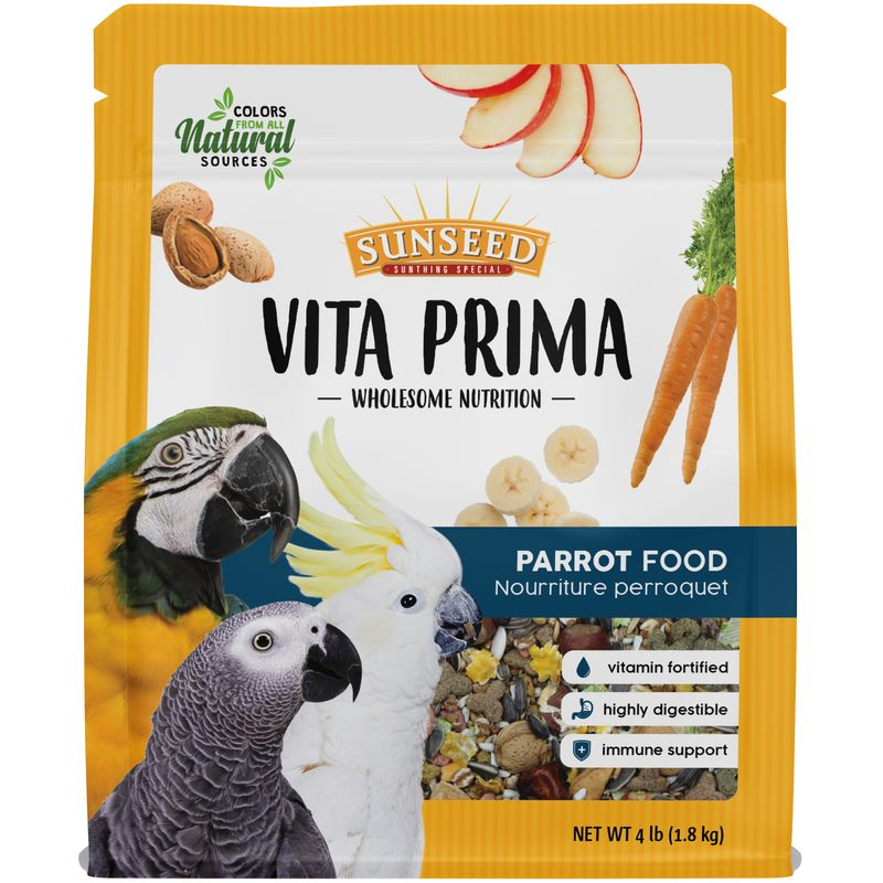 Sunseed Vita Prima Parrot Food, 4-lb