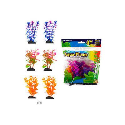 Penn-Plax Aqua-Plants Betta Plastic Aquarium Plant, Color Varies Image