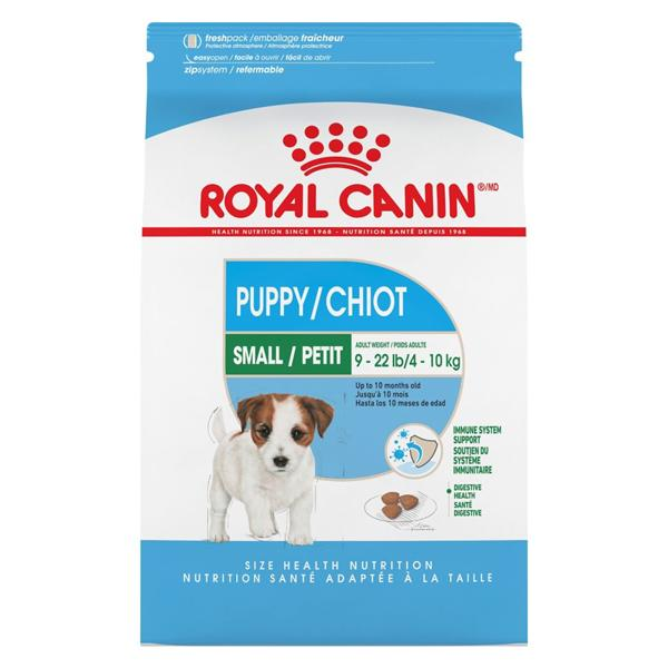 Royal Canin Small Puppy Dry Dog Food, 2.5-lb