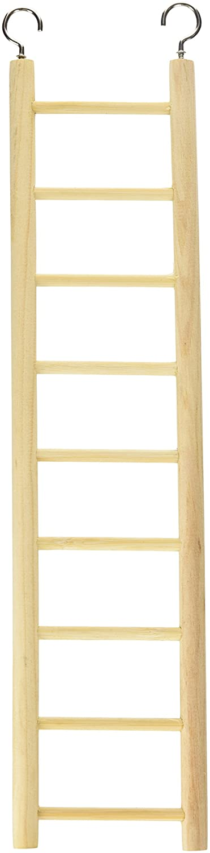 Living World Wooden Bird Ladder, 9-steps