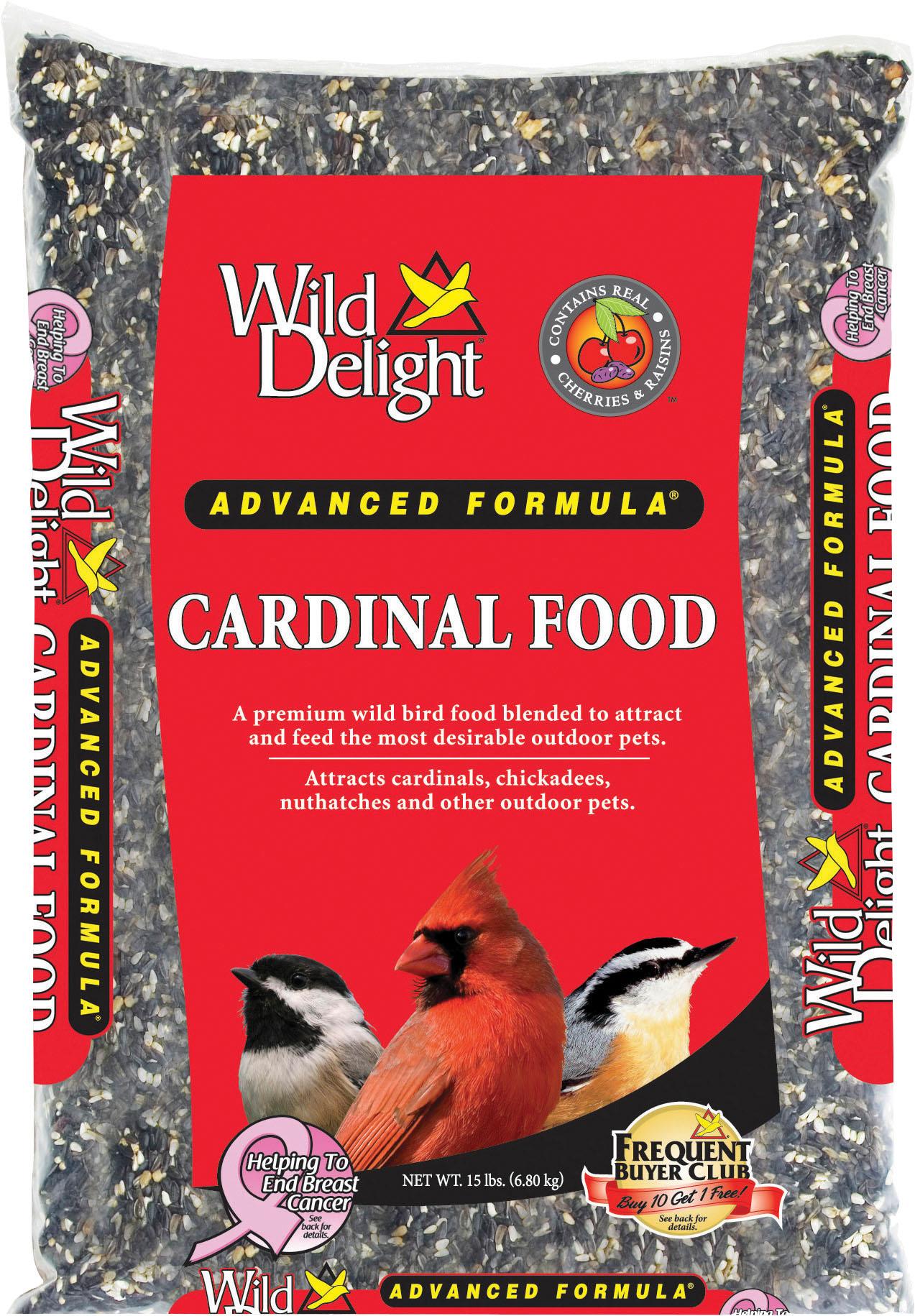 Wild Delight Cardinal Wild Bird Food, 15-lb