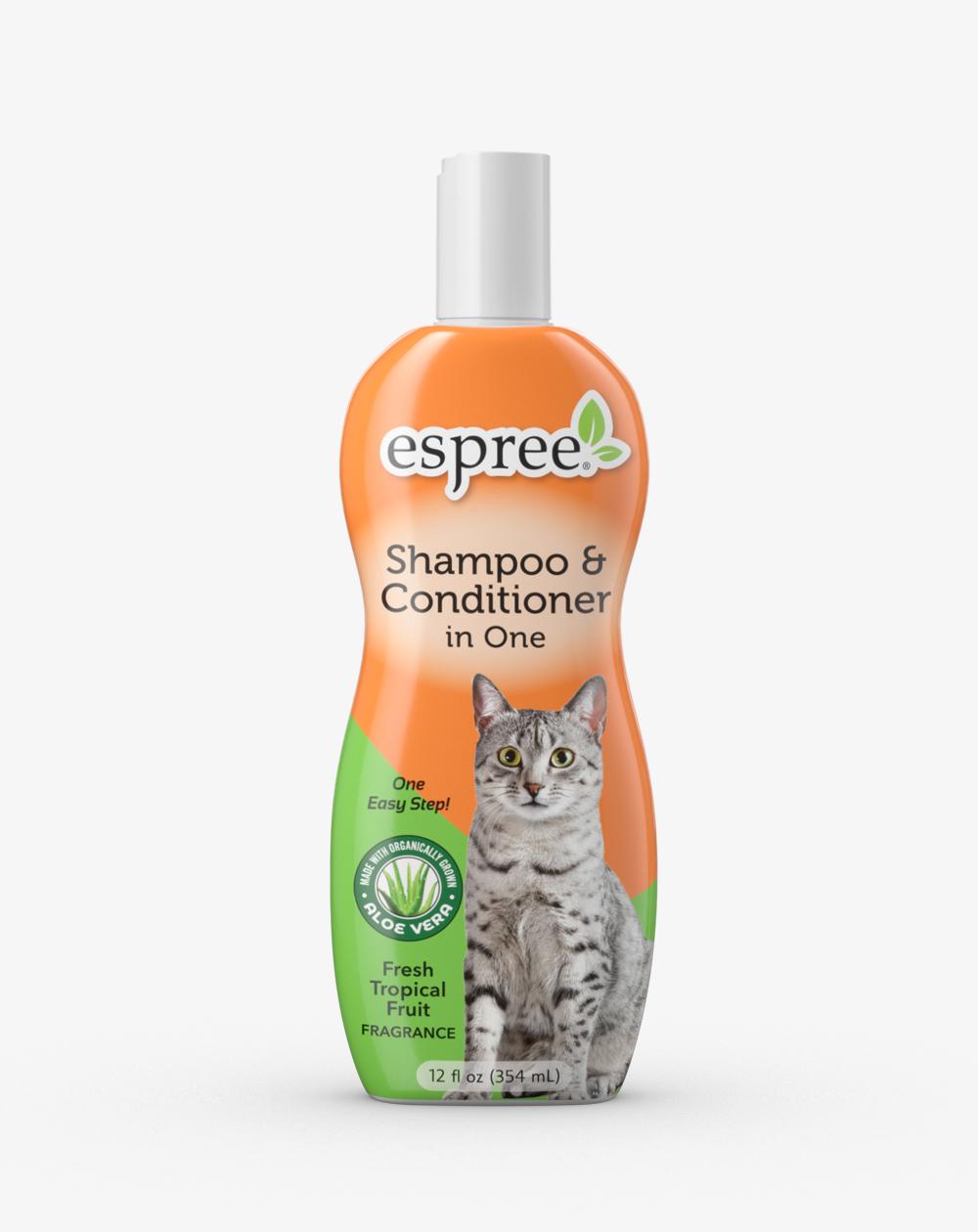 Espree Cat Shampoo & Conditioner, 12-oz