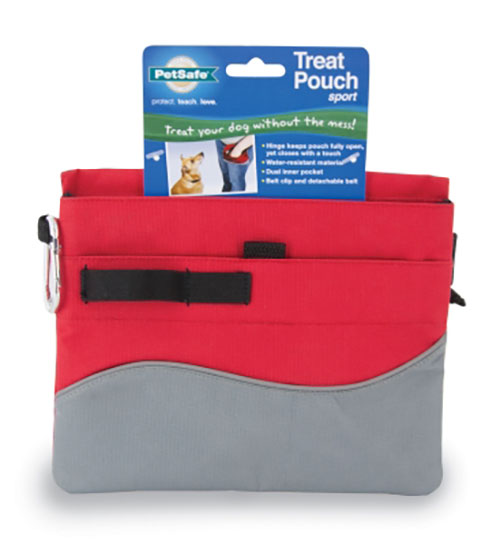 PetSafe Training Treat Pouch Sport for Dogs, Red