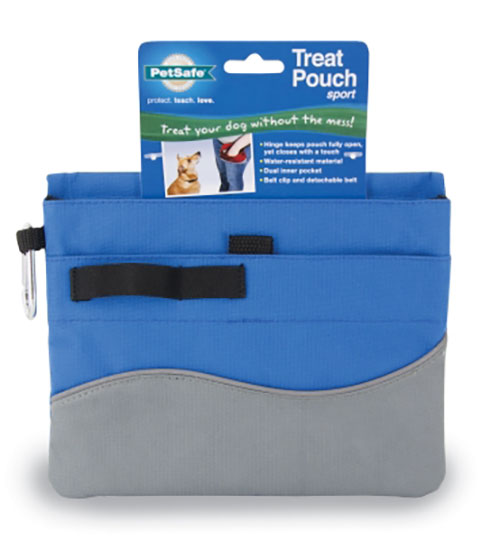 PetSafe Training Treat Pouch Sport for Dogs, Blue