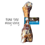 FouFou Boucherie Beef Bone Dog Treats, 10-in
