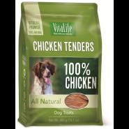 VitaLife Chicken Tenders Grain-Free Jerky Dog Treats, 400-gram