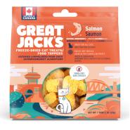 Great Jack's Salmon Grain-Free Freeze-Dried Cat Treats, 28-gram