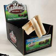 Tasman's American Bison Rawhide Rolls Dog Treats Image